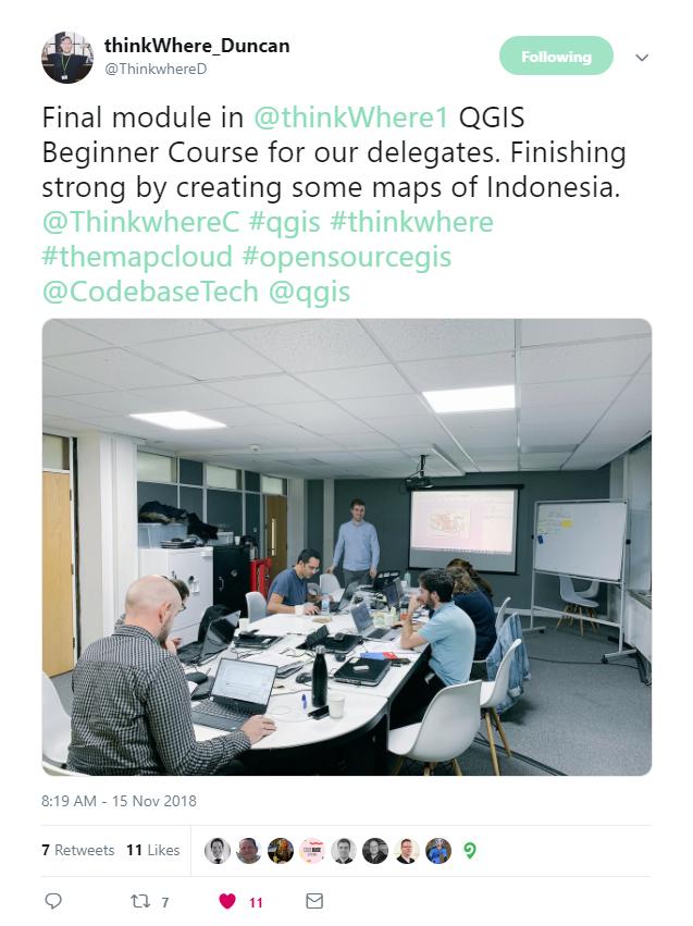 QGIS 3 Training Development   thinkWhere